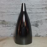 MaxLight Lampholder cup+plastic lamp holder (CE certified)+cord grip, E27, matt pearl black