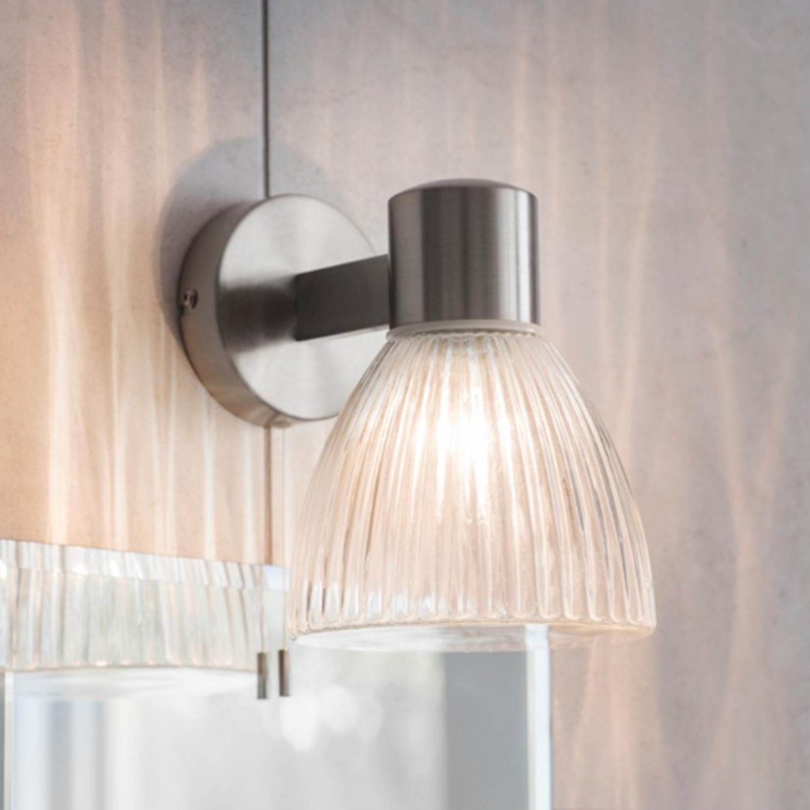 GT Campden Bathroom Wall Light - Satin Nickel