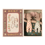 Maileg Maileg Baby mice, Twins in matchbox NEW