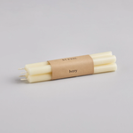 St Eval St Eval Pack of 4 Ivory unscented 1/2x6 candlesticks