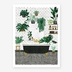 All The Ways To Say Bathroom Print