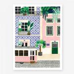 All The Ways To Say Lisbon Print