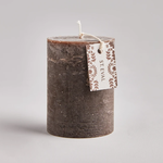 "St. Eval Oak, Folk 3""x4"" Scented Pillar Candle"