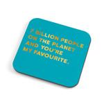 Redback Cards 7 Billion Coaster