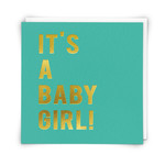 Redback Cards Baby Girl Card