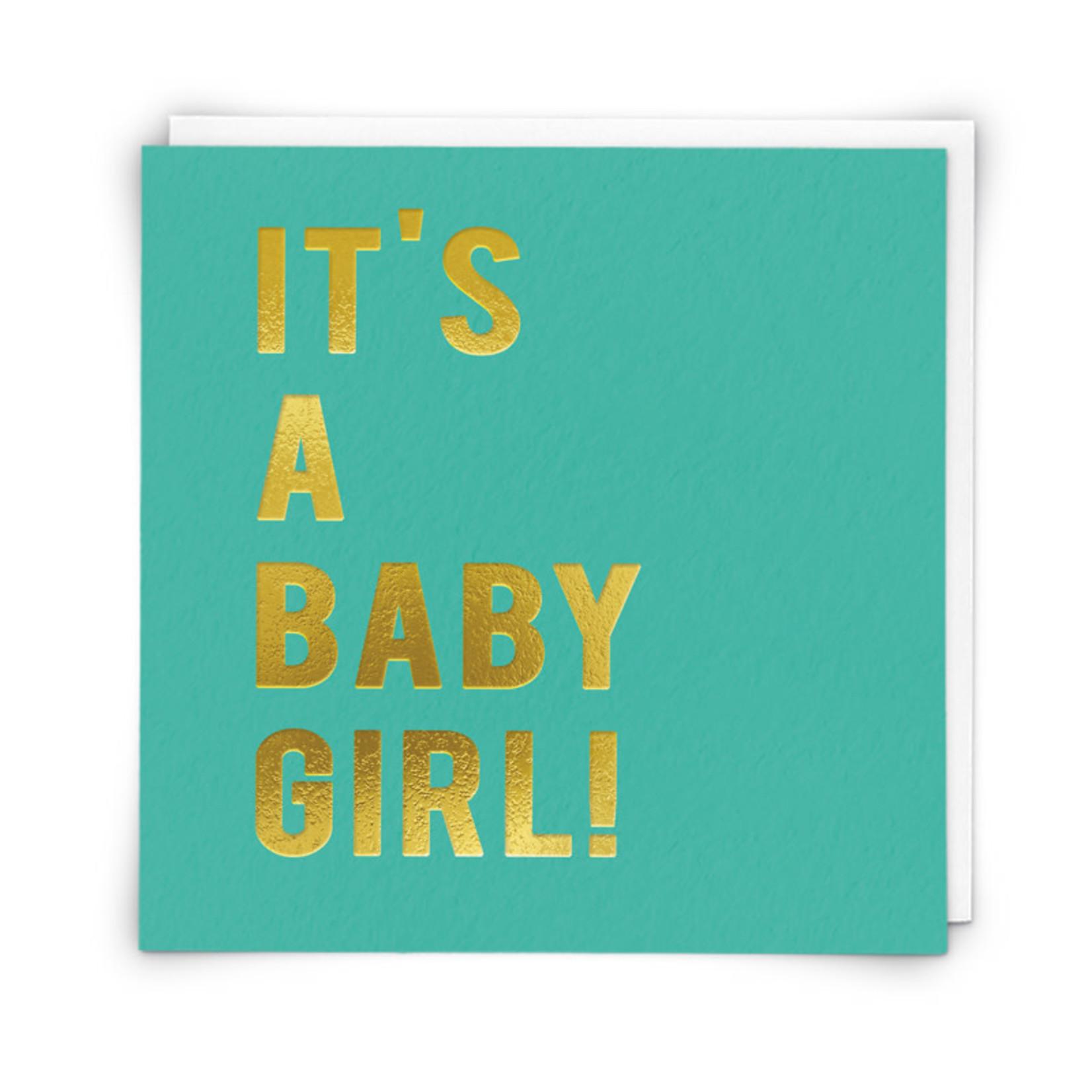 Redback Cards Baby Girl Card
