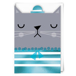 Redback Cards Blouse Cat Card