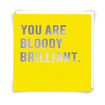 Redback Cards Brilliant Card
