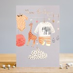 Louise Tiler Cute New Baby Card