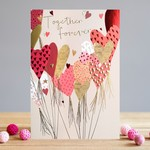 Louise Tiler Together Forever Balloons Card