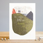 Louise Tiler To a special Dad on Father's Day Hill Card