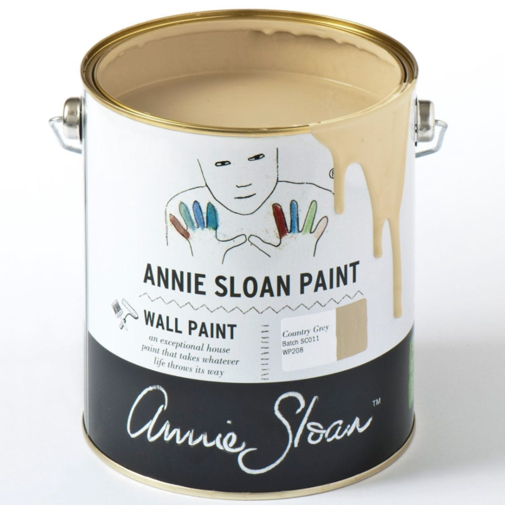 Annie Sloan Annie Sloan Country Grey wall paint