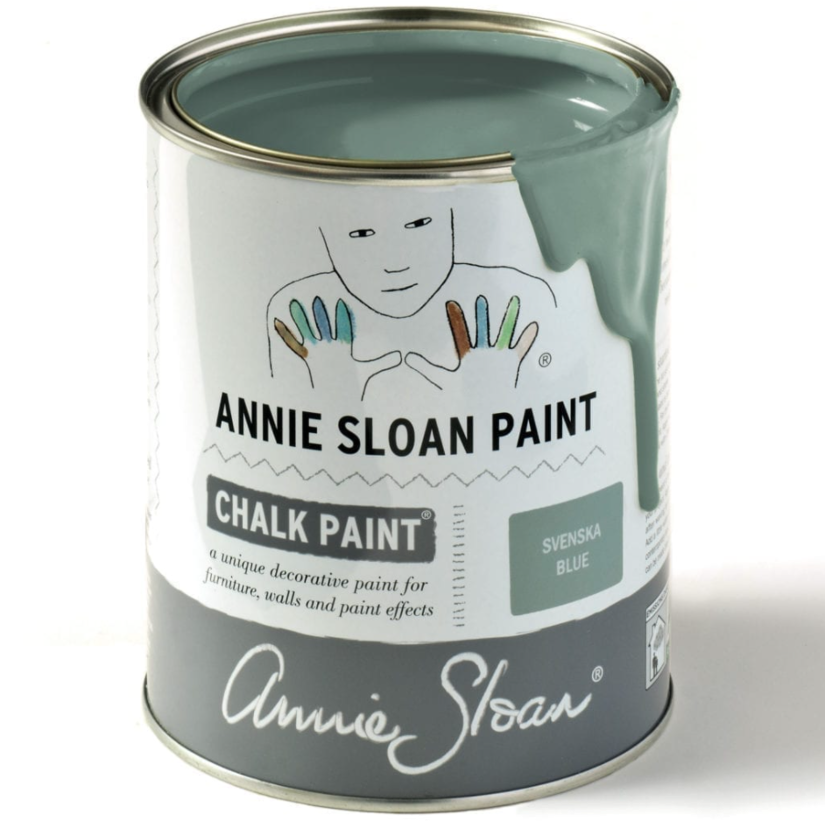 Annie Sloan Annie Sloan Svenska Blue Chalk Paint