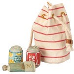 Maileg PRE ORDER Maileg Bag with Beach essentials - Estimated arrival mid/end June