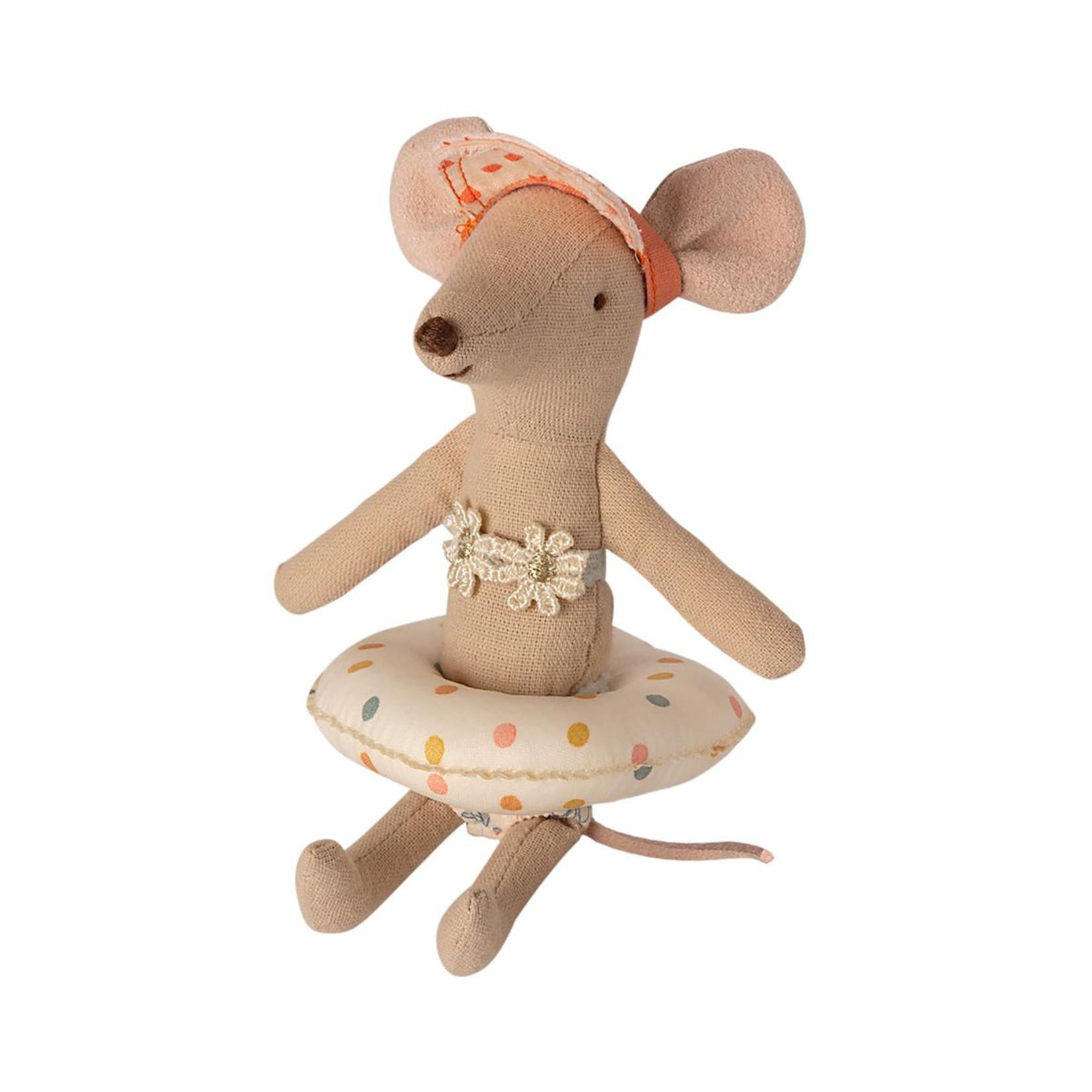 Maileg Maileg Float, Small mouse - Multi dot