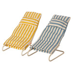 Maileg PRE ORDER Maileg Beach chair set, Mouse - Estimated arrival mid July