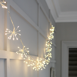 Light Style London Starburst Chain (Silver) Mains Fairy Lights