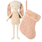 Maileg Maileg Bunny Angel in stocking, Powder