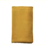 Nk Mustard Large cotton throw 125 x 180cm
