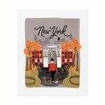 Rifle New York Autumn Print