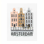 Rifle Rifle Bon Voyage Amsterdam Print 11x14 Inches