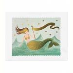 Rifle Rifle Mermaid Print 8x10 Inches