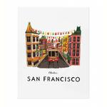 Rifle Rifle San Francisco Print - 11x14