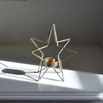 Grand Interiors Star Single T-light Holder