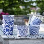 Grand Interiors Old Style Dutch Pots Blue Asst 6 Designs