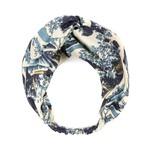 ONE HUNDRED STARS Wave Blue Headband