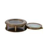 LOrnaments Compass with Hidden Magnifier