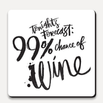 U Studio Design Ltd Tonight's Forecast 99% Coaster