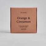 St. Eval St Eval Tealights x9 Orange and Cinnamon