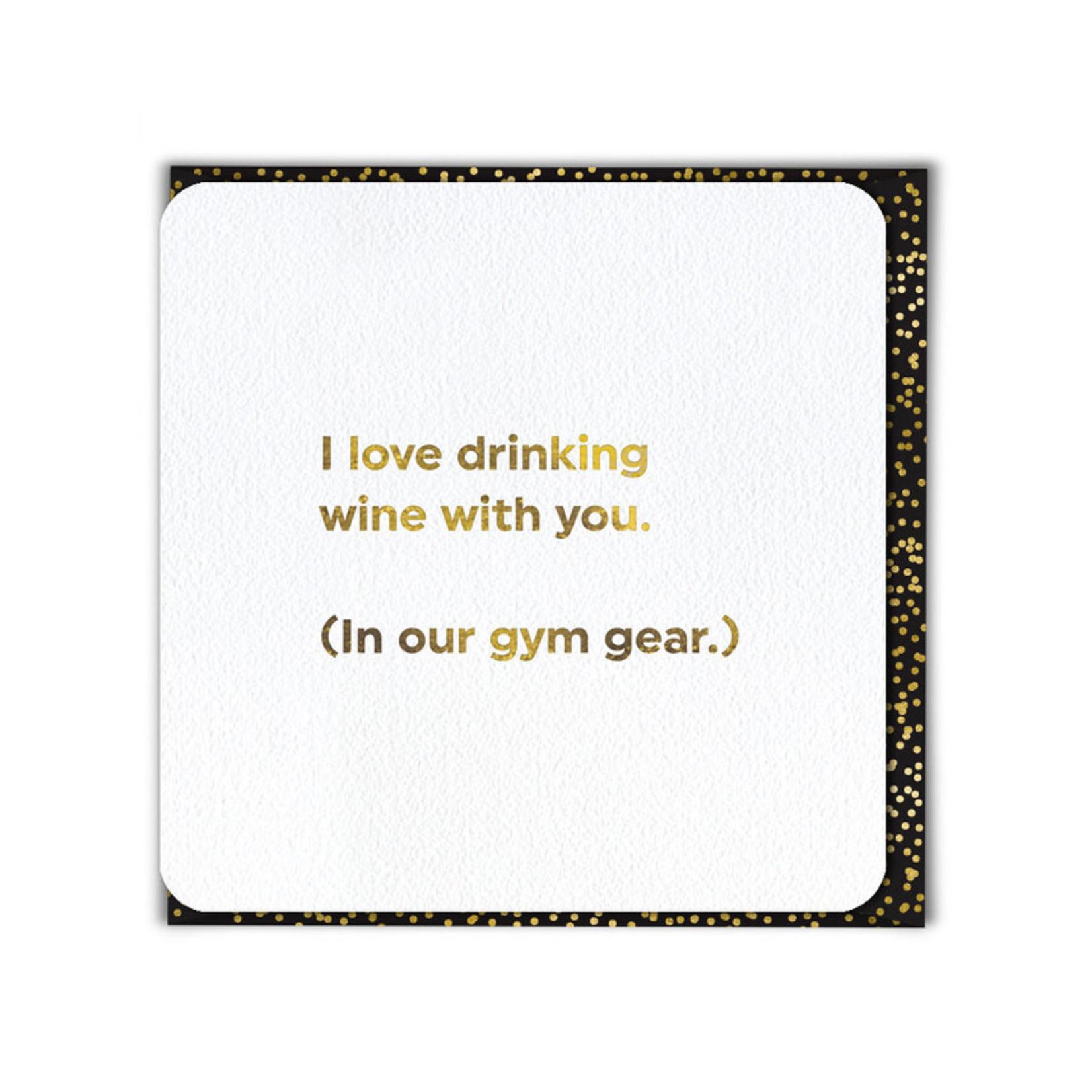Brainbox Candy Drinking Gym Gear card