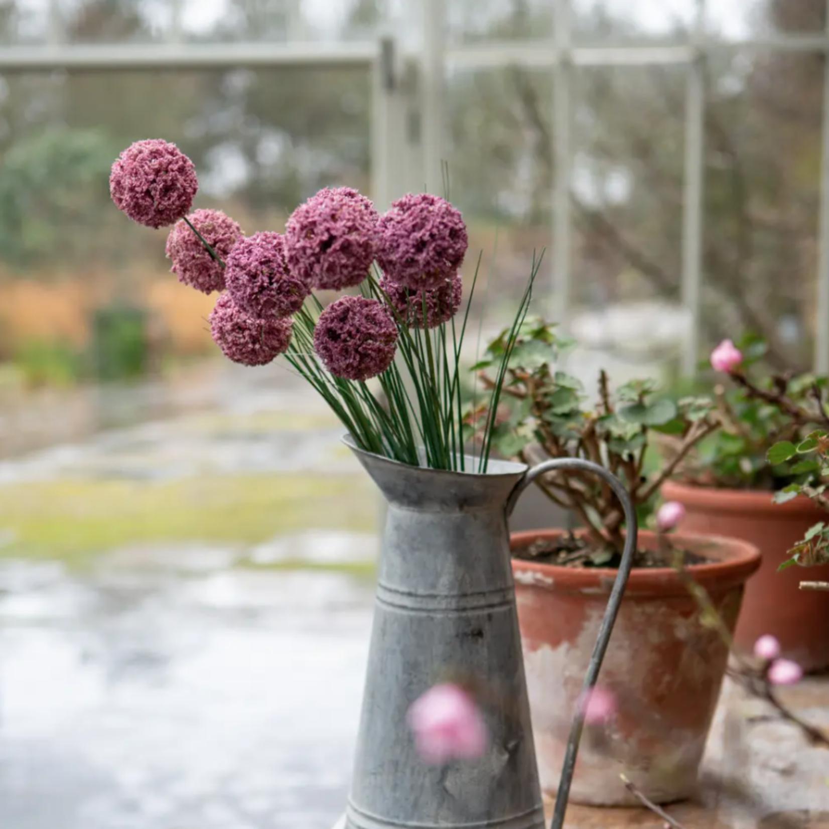 Grand Interiors Allium Spray Dark Pink 76cm