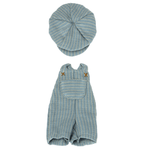 Maileg Maileg Overall and cap for Teddy junior