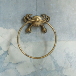 Grand Interiors Crab Towel Ring 13x4x13cm