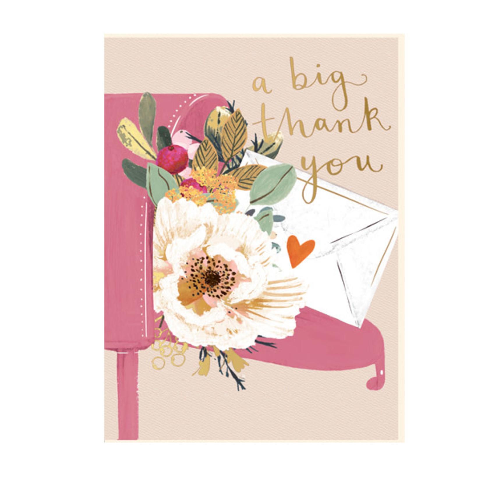 Louise Tiler Big Thank You Mail Card
