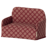 Maileg PRE ORDER Maileg Couch, Mouse - Red - Estimated arrival end October
