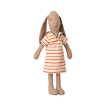 Maileg Maileg Bunny size 2, Striped dress