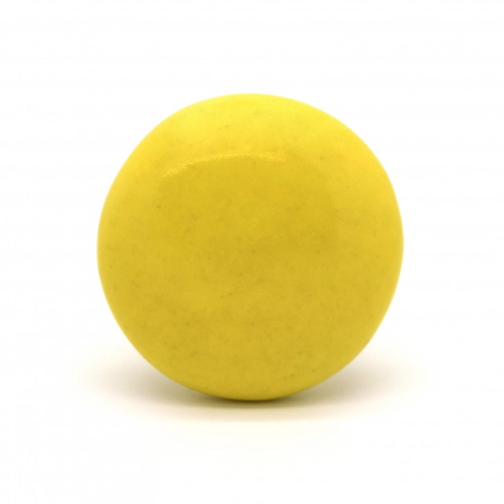 PKA Flat Yellow Ceramic Cupboard Knob