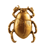 Sass and Belle Gold Scarab Beetle Drawer Knob