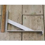 "IRON RANGE Galvanised Shelf Bracket Window Box UTILITY Brace Lip 6"" x 9"""