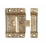 IRON RANGE Cupboard Tee Latch Eastlake Solid Brass LOCK