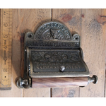IRON RANGE Antique Bronze BURY ST LONDON Toilet Roll Holder