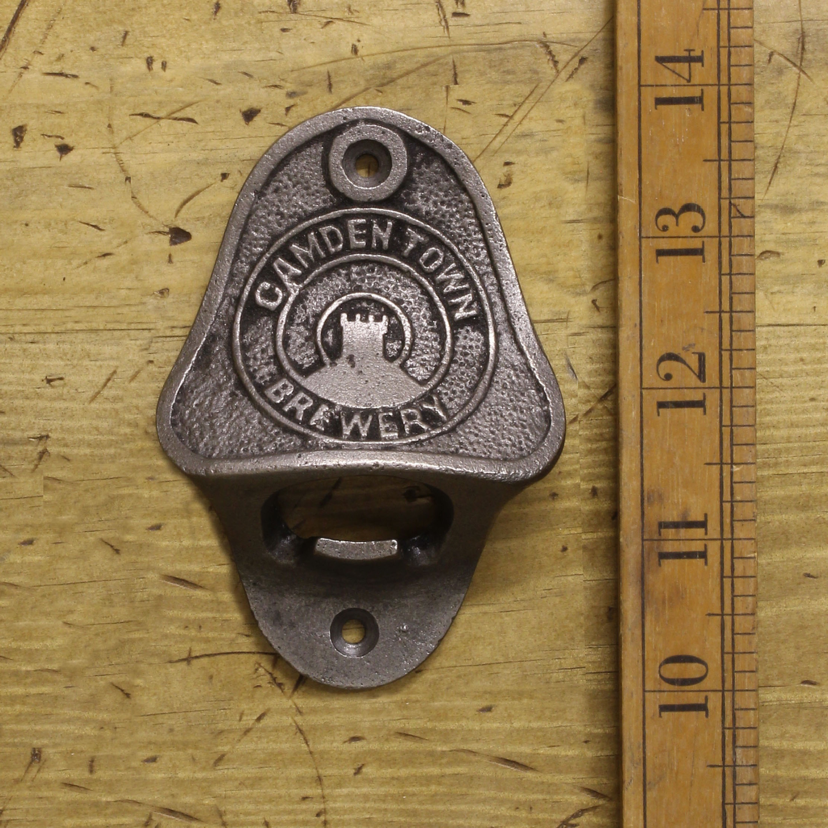 IRON RANGE Bottle Opener Wall Mounted CAMDEN TOWN Cast Iron
