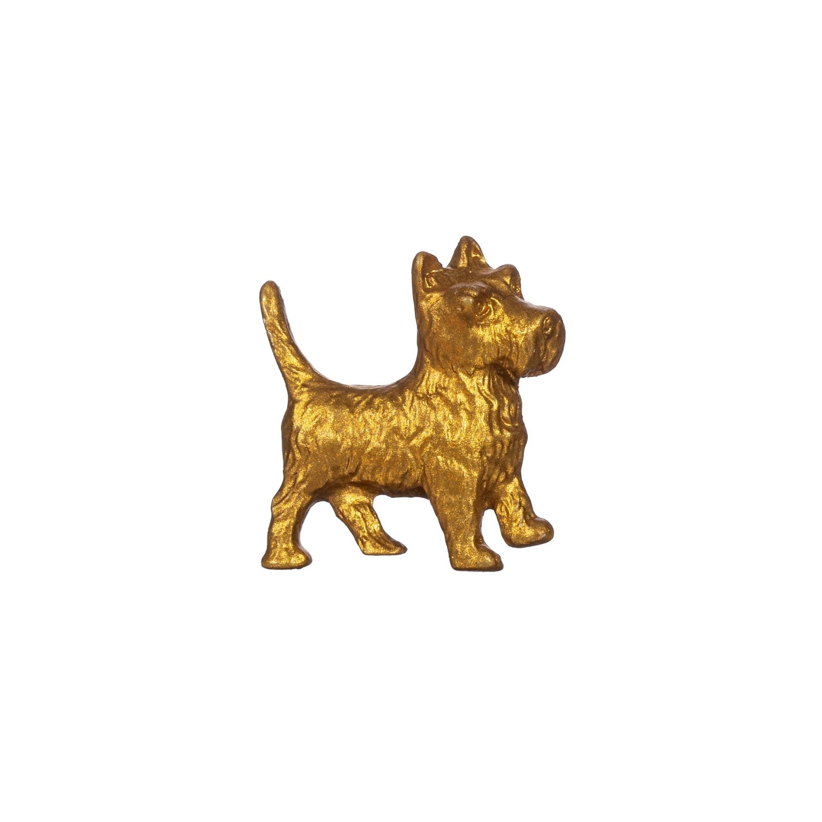 Sass and Belle Gold Terrier Drawer Knob