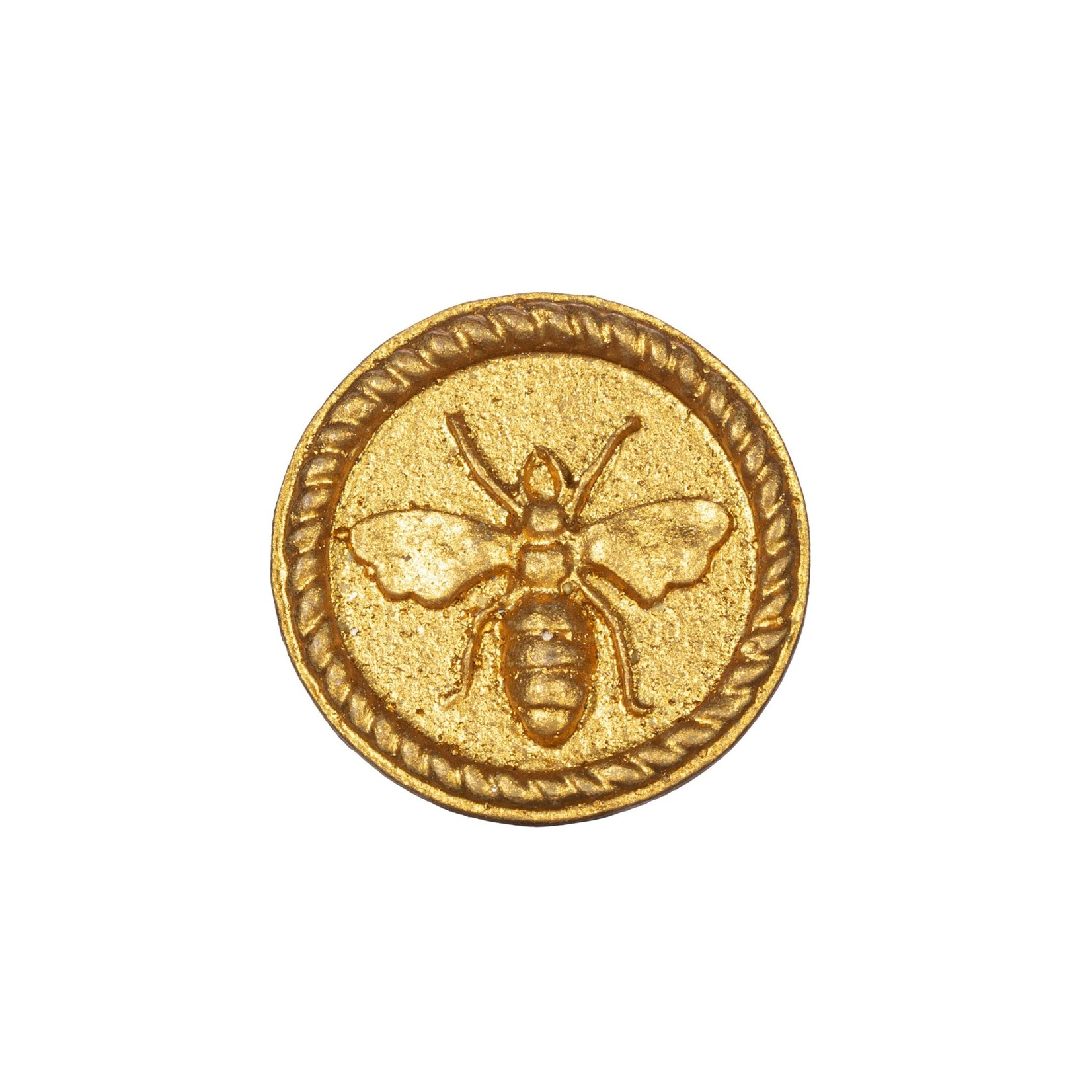 Sass and Belle Gold Bee Round Drawer Knob