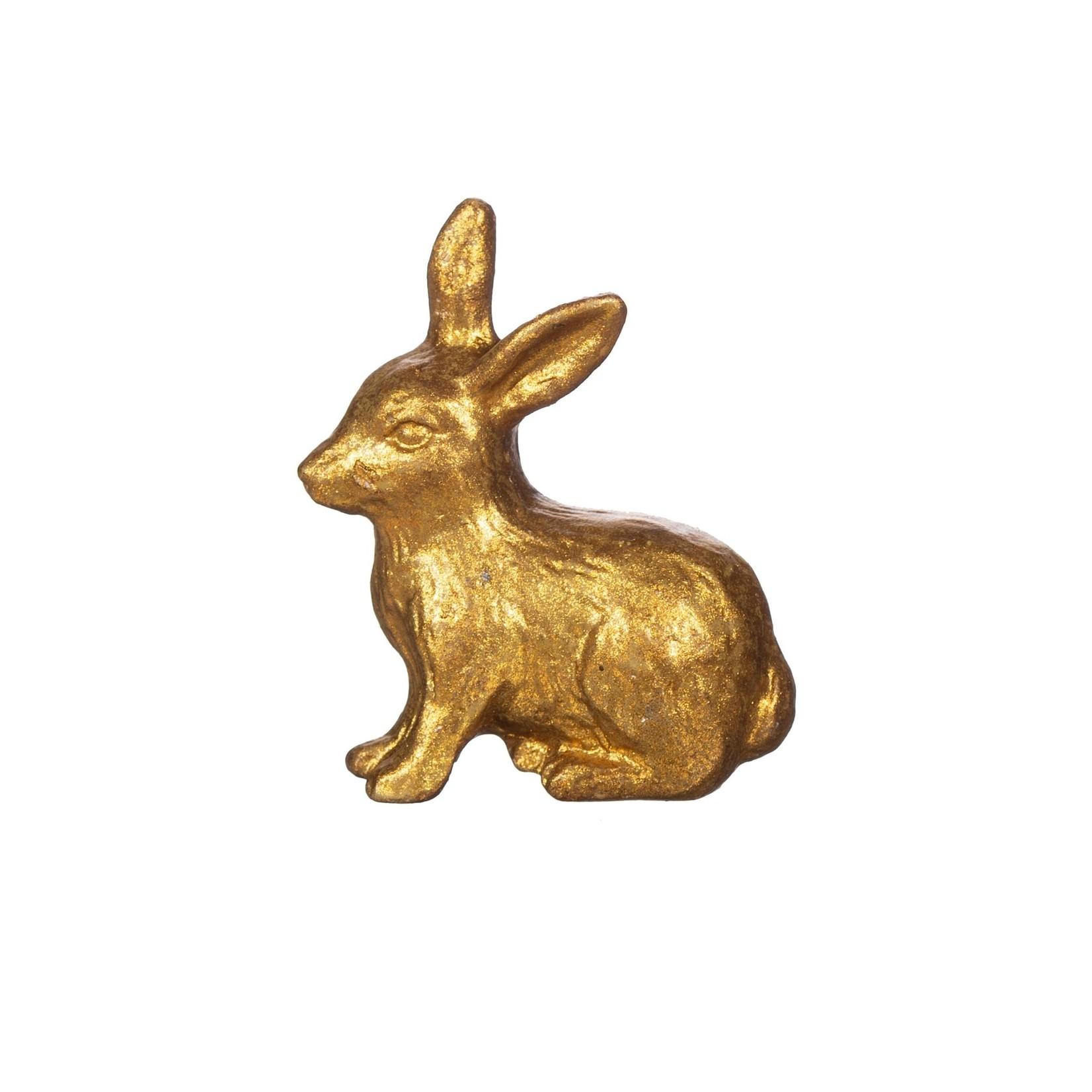 Sass and Belle Gold Rabbit Drawer Knob