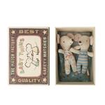 Maileg Maileg Baby mice, twins in matchbox
